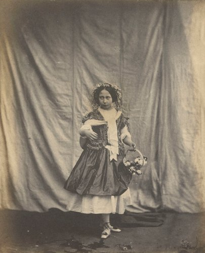 Princess Alice as 'Spring'