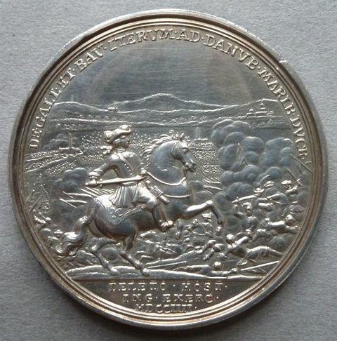 Medal commemorating the Battle of Blenheim
