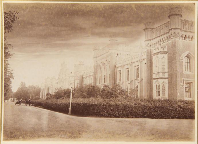 The first Gothic House, Peterhof. [Peterhof, 1893. ]