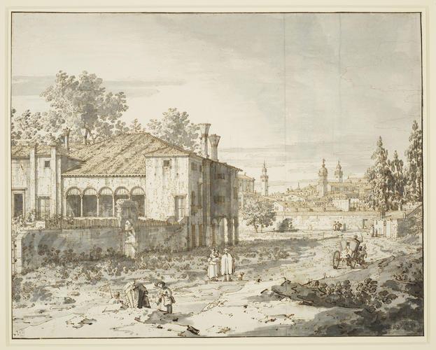 Padua: A villa on the outskirts of the city