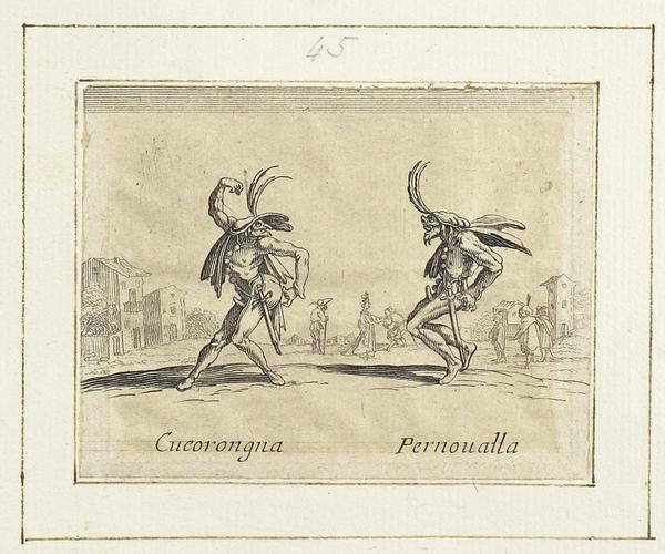 Master: Balli di Sfessania Item: Cucorongna and Pernovalla