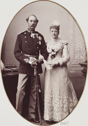 King Christian IX and Queen Louise of Denmark, 1892