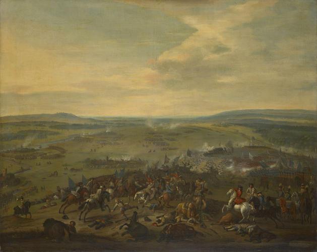 The Battle of Blenheim (or Hochstadt), 1704