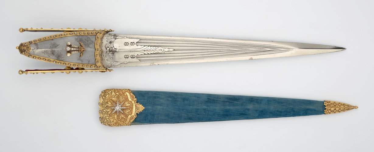 Master: Punch dagger and scabbard