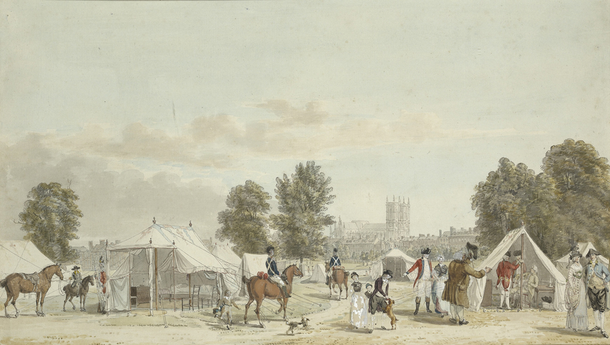 Encampment in St James's Park