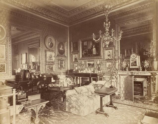 The Queen's Sitting Room, Windsor Castle