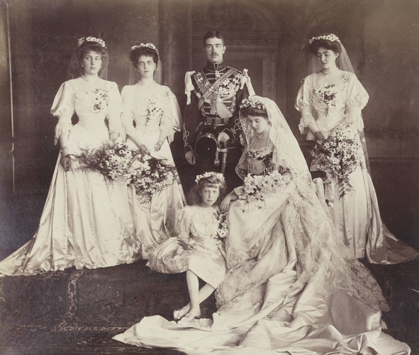 Unknown Person Wedding Portrait Of Crown Prince Gustaf Of Sweden