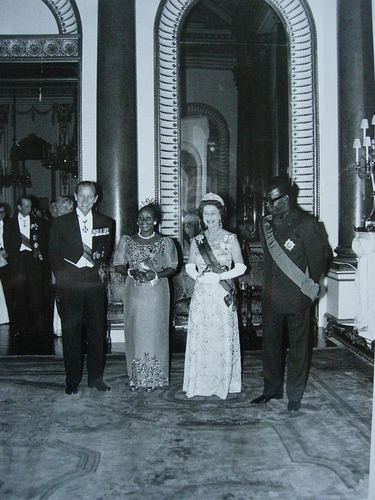 President Mobutu of Zaire's State visit to Britain, 1973