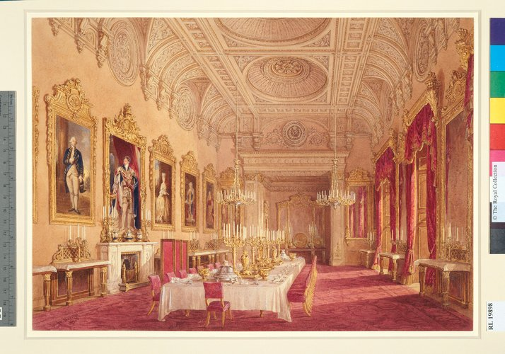 Buckingham Palace: The State Dining Room