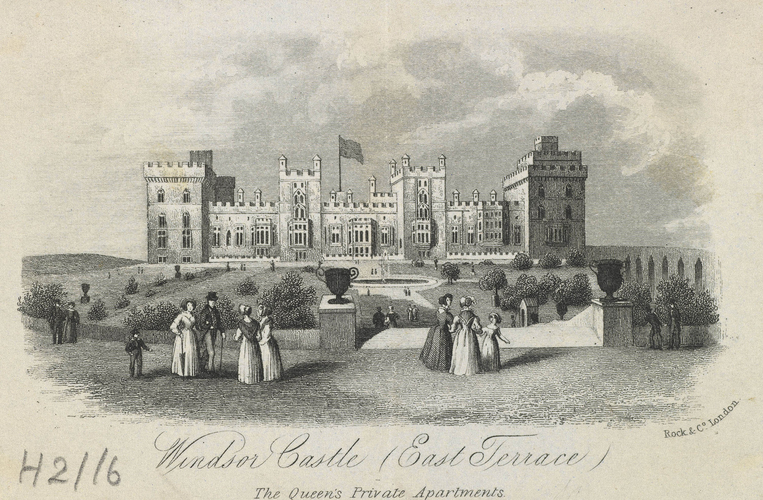 Windsor Castle (East Terrace), The Queen's Private Apartments