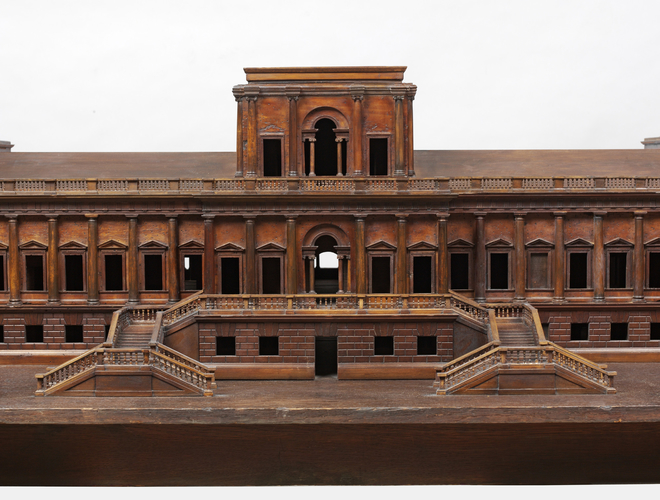 Model of a proposed new palace for Richmond