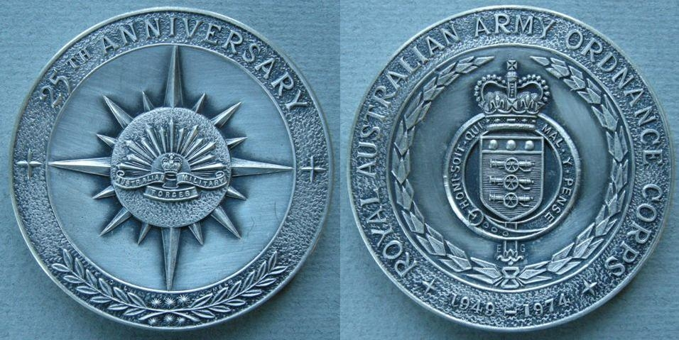 976a50ee4ac EG - Australia. Medal commemorating the 25th Anniversary of the the .