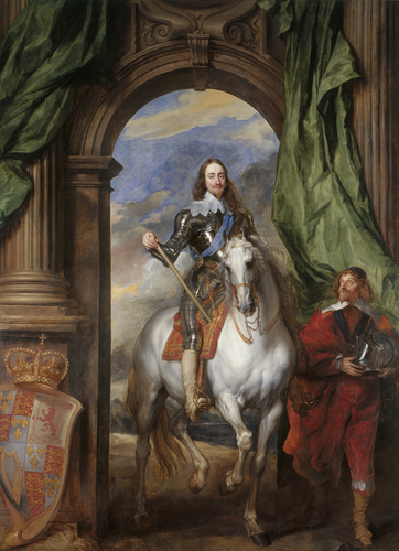 Charles I (1600-1649) with M. de St Antoine