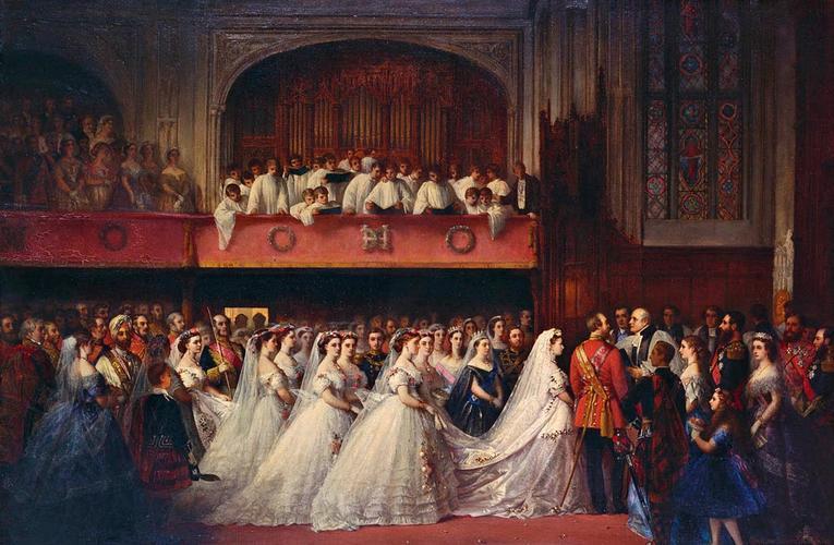 The Marriage of Princess Helena, 5 July 1866