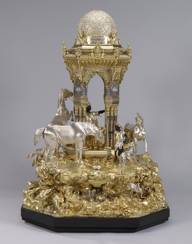 The Alhambra table fountain