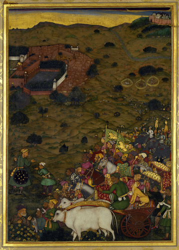Master: The Padshahnama Item: A Royal procession