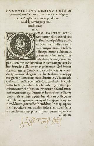 Assertio Septem Sacramentorum adversus Martinum Lutherum