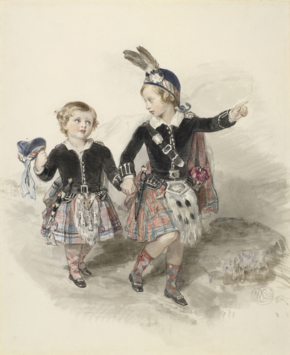 Albert Edward, Prince of Wales, and Prince Alfred