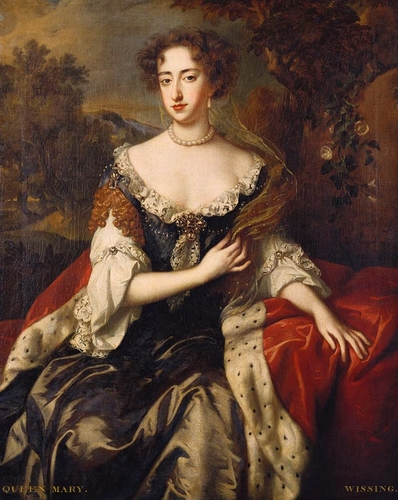 Mary II (1662-94) when Princess of Orange