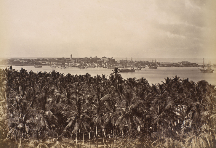 General view of Colombo looking south