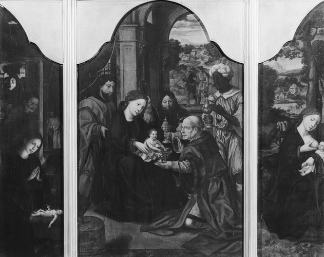 Triptych: Adoration of the Kings