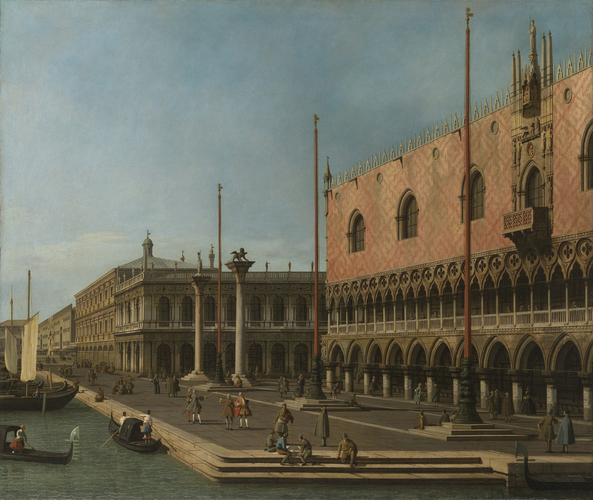 Capriccio View of the Molo and the Palazzo Ducale