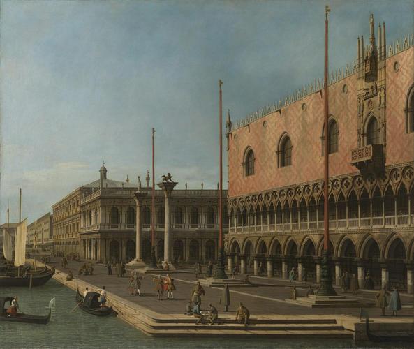 Capriccio View of the Molo and the Palazzo Ducale