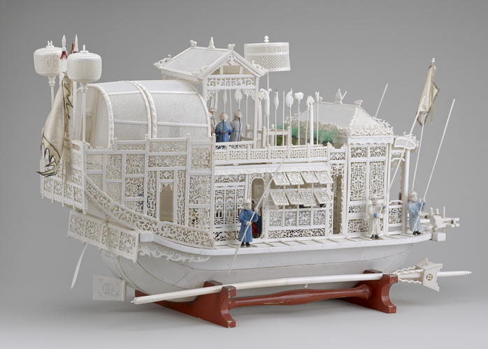 Chinese boat model