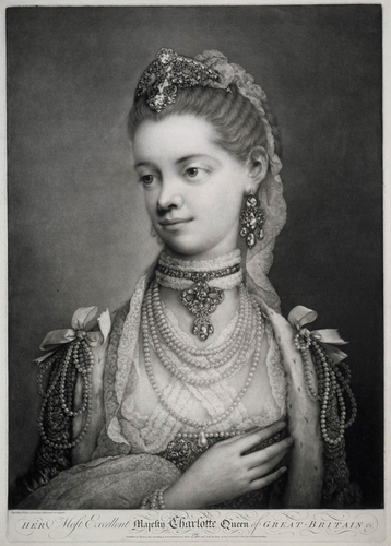 HER Most Excellent Majesty Charlotte Queen of GREAT BRITAIN &c