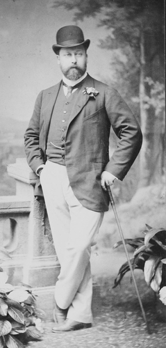 Portrait photograph of Albert Edward, Prince of Wales (1841-1910), c. 1880