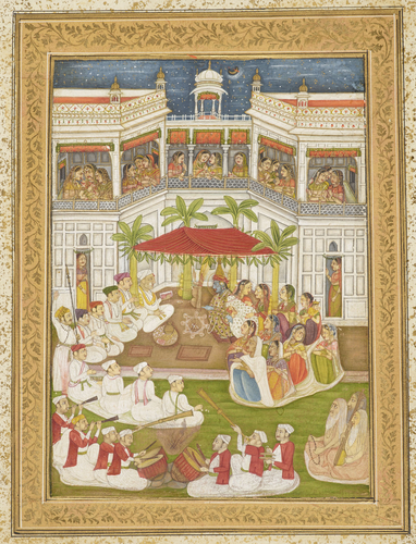 Native drawings of Hindoo gods, princes & princesses