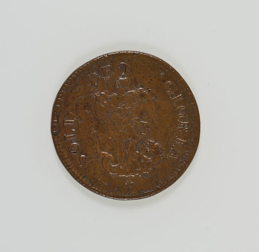 Charles II admission ticket to the ceremony for Touching for the King's Evil