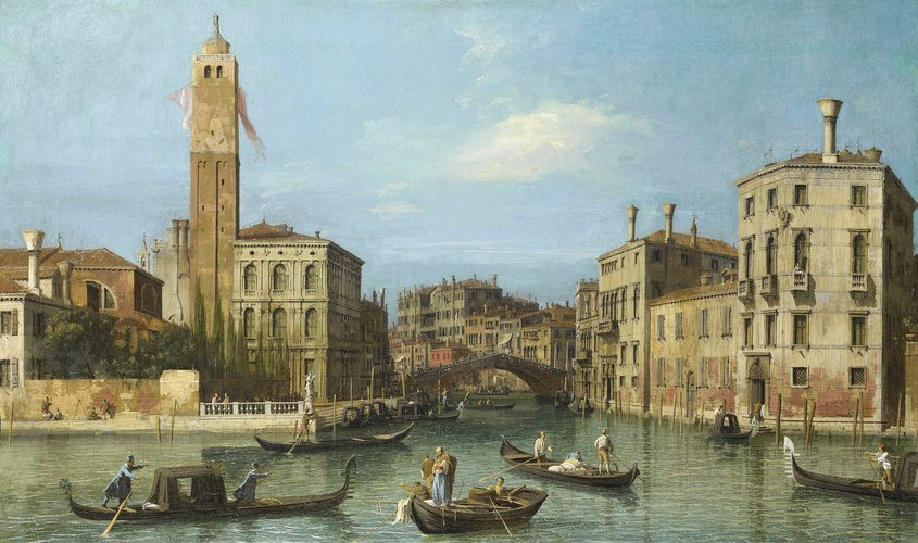 San Geremia and the Entrance to the Cannaregio