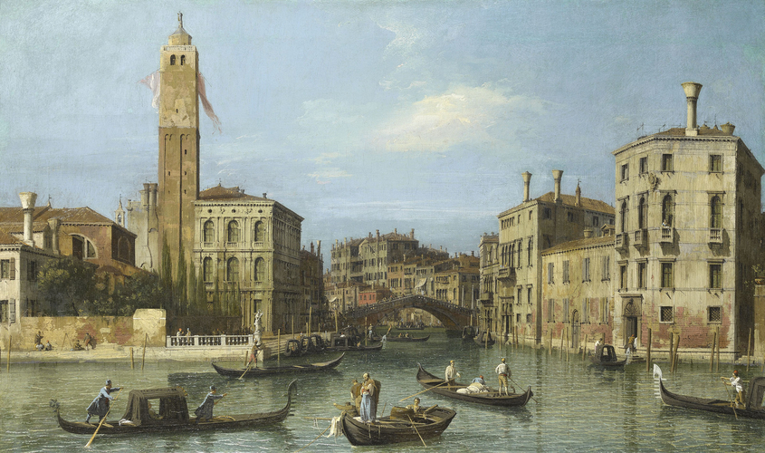 Venice: S. Geremia and the Entrance to the Cannaregio
