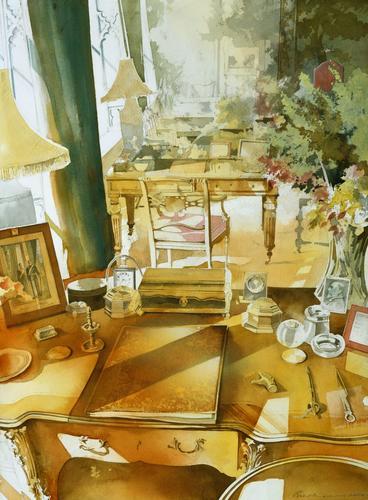 Desks in Royal Lodge