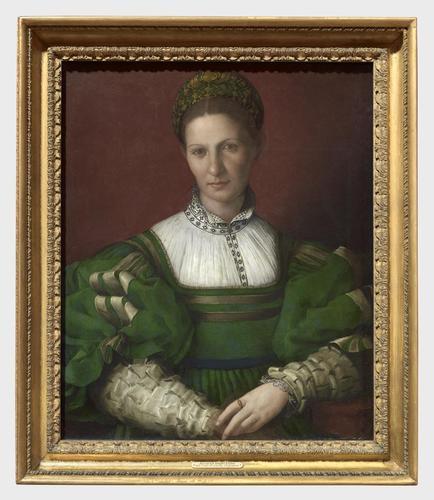 Frame for RCIN 405754, Bronzino, Lady in Green