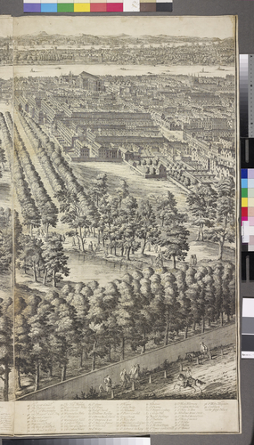 View and Perspective of London, Westminster and St James's Park
