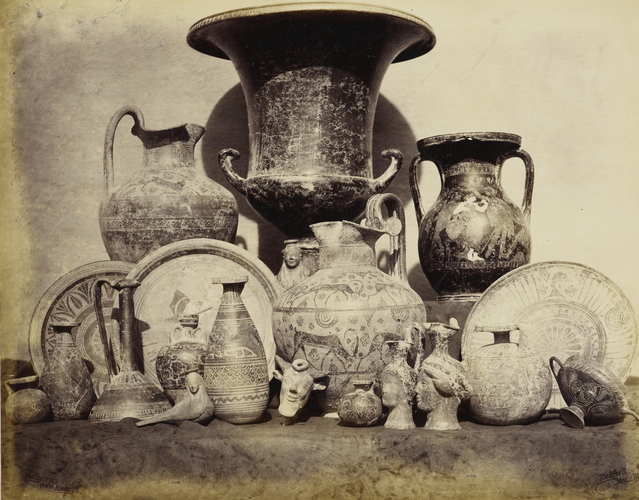 [Antiquities from Rhodes, purchased by the Prince of Wales]