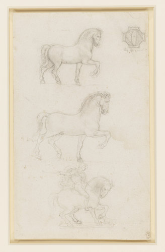 Designs for an equestrian monument