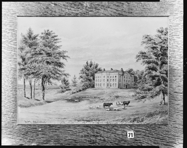 Old Osborne House, 1833
