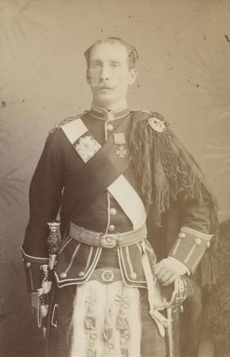 Lieutenant-Colonel William Henry Dick Cunyngham (1851-1900)