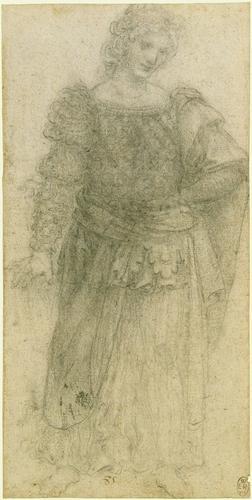 A standing masquerader