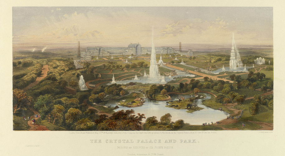 The Crystal Palace and Park