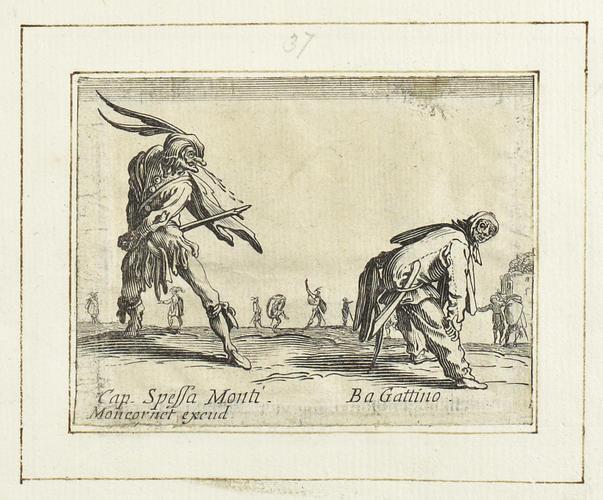 Master: Balli di Sfessania Item: Capitano Spessa Monti and Bagattino