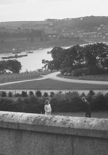 HRH Princess Elizabeth and HRH Prince Philip of Greece, Dartmouth 1939
