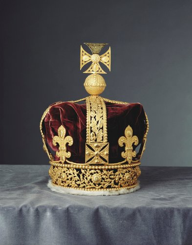 Cast of George IV's crown