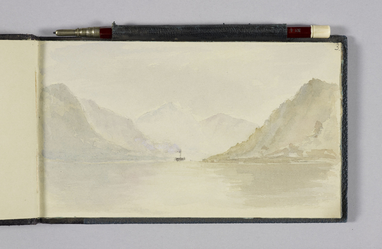 Master: Queen Alexandra's Sketchbook Item: View of a lake