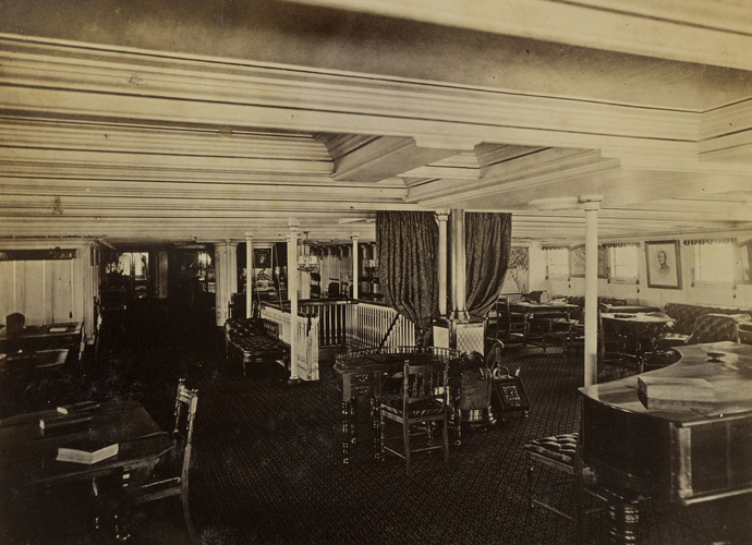 Saloon of HMS Serapis