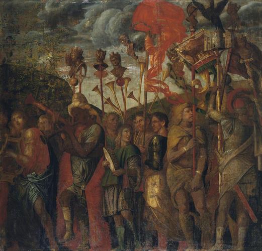 The Triumphs of Caesar: 8. The Musicians
