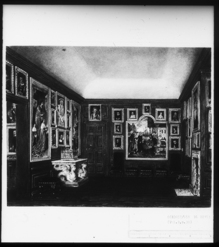 The Old Drawing Room, Kensington Palace, also known as the Queen's Private Dining Room